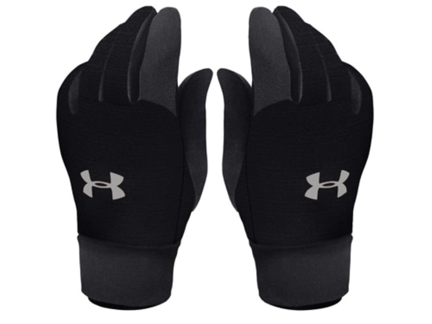 Charmant Under Armour ColdGear Liner Gloves Synthetic Blend Black Large