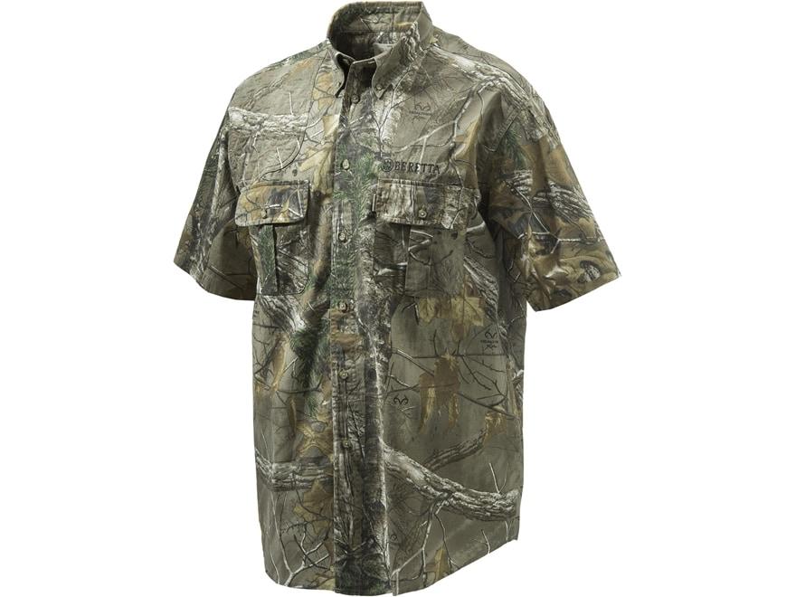 Beretta Men's TM Shooting Shirt 2.0 Short Sleeve Cotton