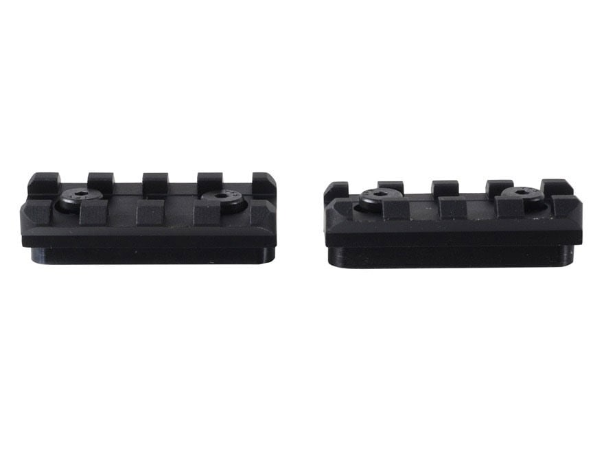 Samson KeyMod Rail Section for Evolution KeyMod Free Float Handguard AR-15 Aluminum Black