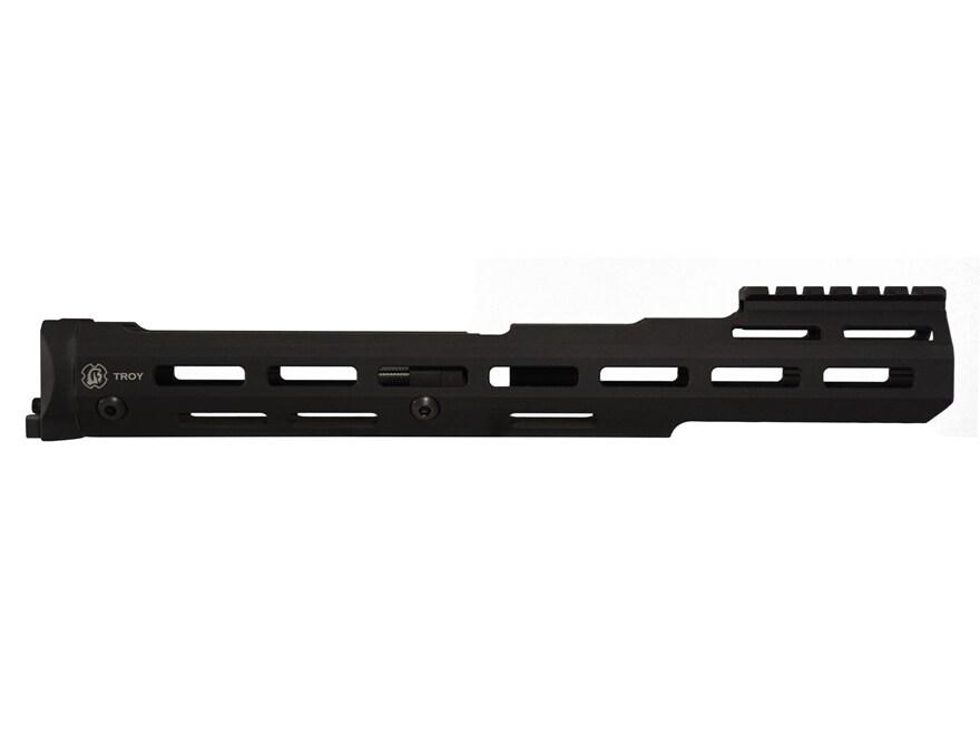 Troy Industries Extended M-LOK Handguard AK-47, AK-74 Stamped Receiver Aluminum Black