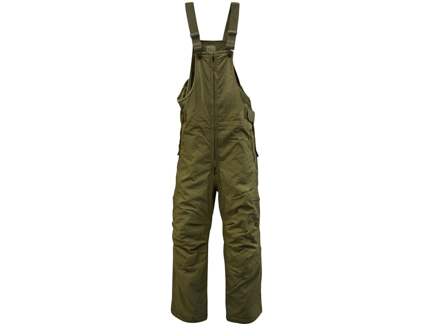 Military Surplus Cold Weather Bibs Olive Drab