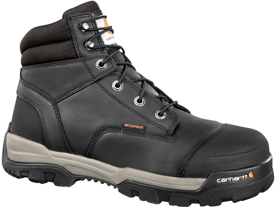 """Carhartt Energy 6"""" Waterproof Composite Safety Toe Work Boots Leather Men's"""
