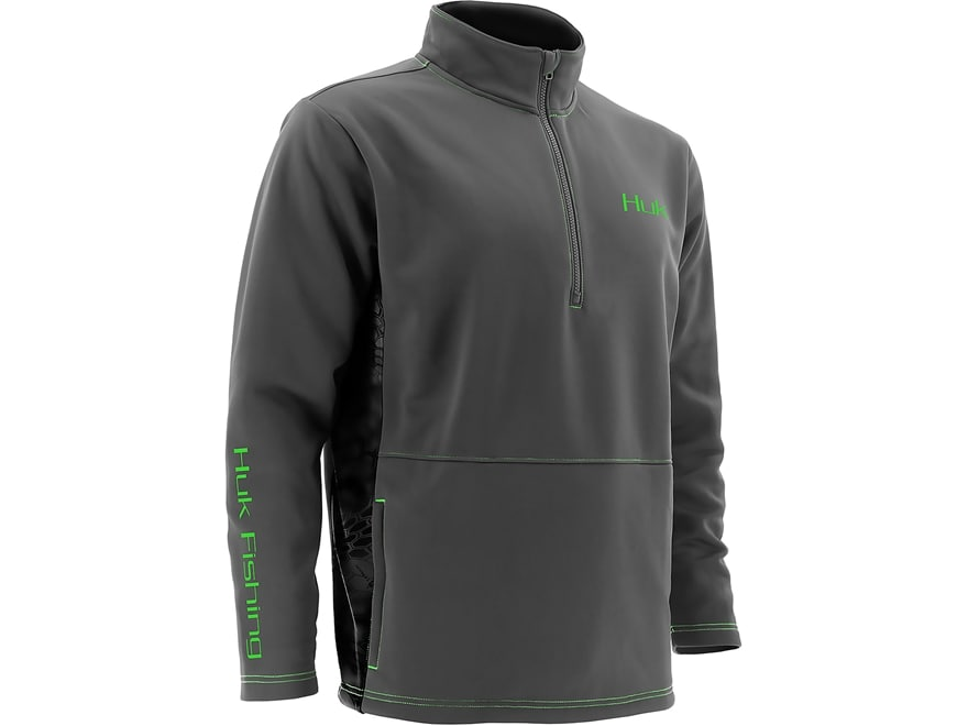 Huk Men's Kryptek Fleece 1/4 Zip Pullover Long Sleeve Polyester