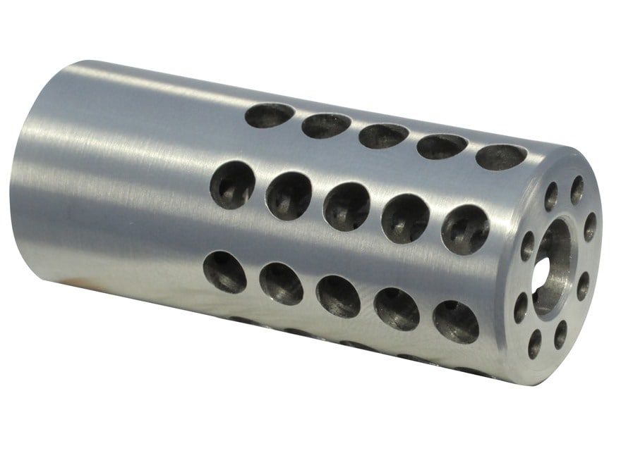 "Vais Muzzle Brake Micro 270 Caliber 1/2""-32 Thread .750"" Outside Diameter x 1.750"" Leng..."