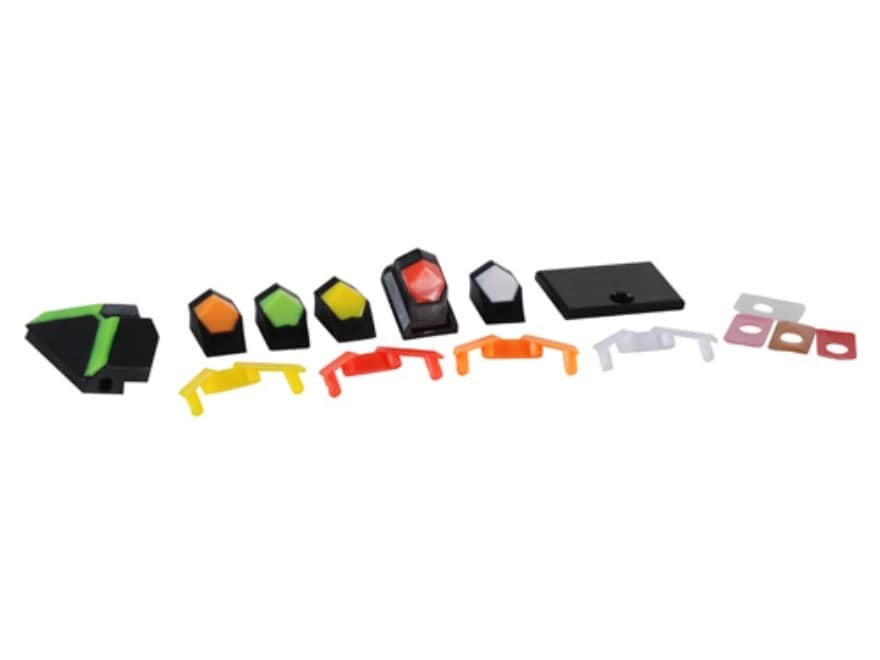 Advantage Tactical Triangular Sight Set Taurus 709, 740 Slim, 111G2, 140G2 Steel Blue w...