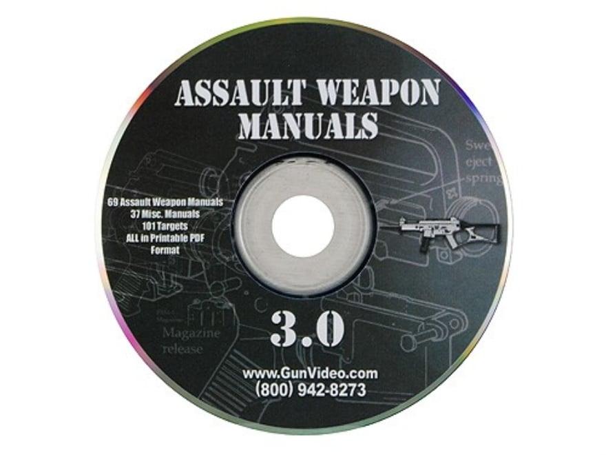 """Gun Video """"Assault Weapons Manuals 3.0"""" CD-ROM"""
