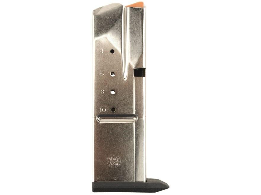 Smith & Wesson Magazine S&W SW40C, SW40E, SW40F, SW40V, 357 Sig, 40 S&W 10-Round Stainl...