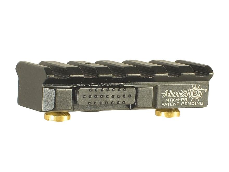 Aimshot KeyMod Quick Release Picatinny Rail Aluminum Black