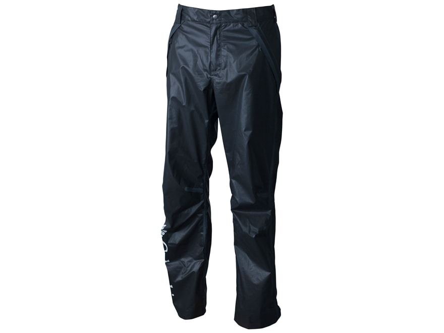 Columbia Men's PFG OutDry Waterproof Rain Pants Nylon Black Medium