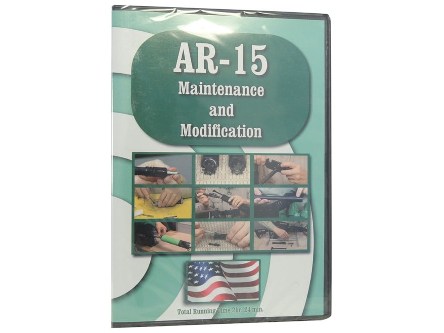 """On Target Productions """"AR-15 Maintenance and Modification"""" DVD"""