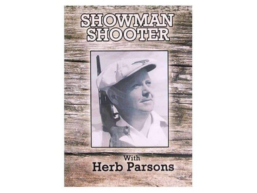"Gun Video ""Showman Shooter with Herb Parsons"" DVD"