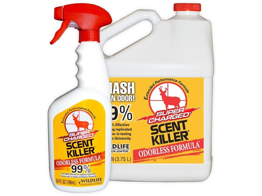 Wildlife Research Center Scent Killer Combo Scent Elimination Bottle Liquid 1 Gallon an...