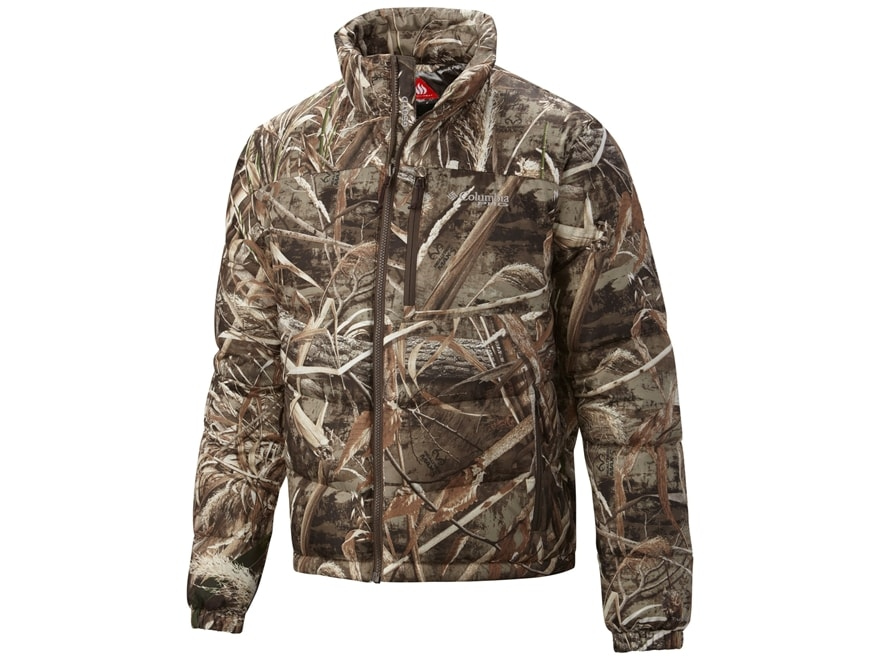 Columbia Men's Widgeon Turbo Liner Jacket Polyester Realtree Max-5 Camo  Large