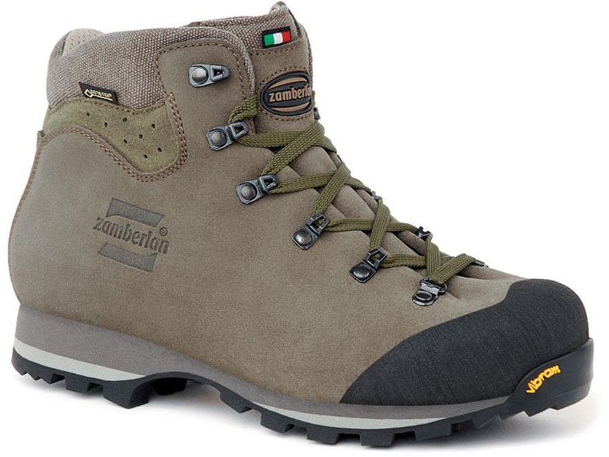 "Zamberlan 491 Trackmaster GTX RR 5"" Waterproof Hiking Boots Gore-Tex Leather Men's"