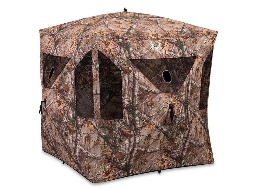 """Ameristep Bone Collector Ground Blind 75"""" x 75"""" x 67"""" Polyester Realtree Xtra Camo"""
