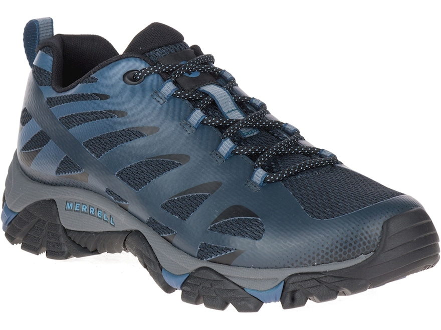 "Merrell Moab Edge 2 4"" Hiking Shoes Mesh Men's"