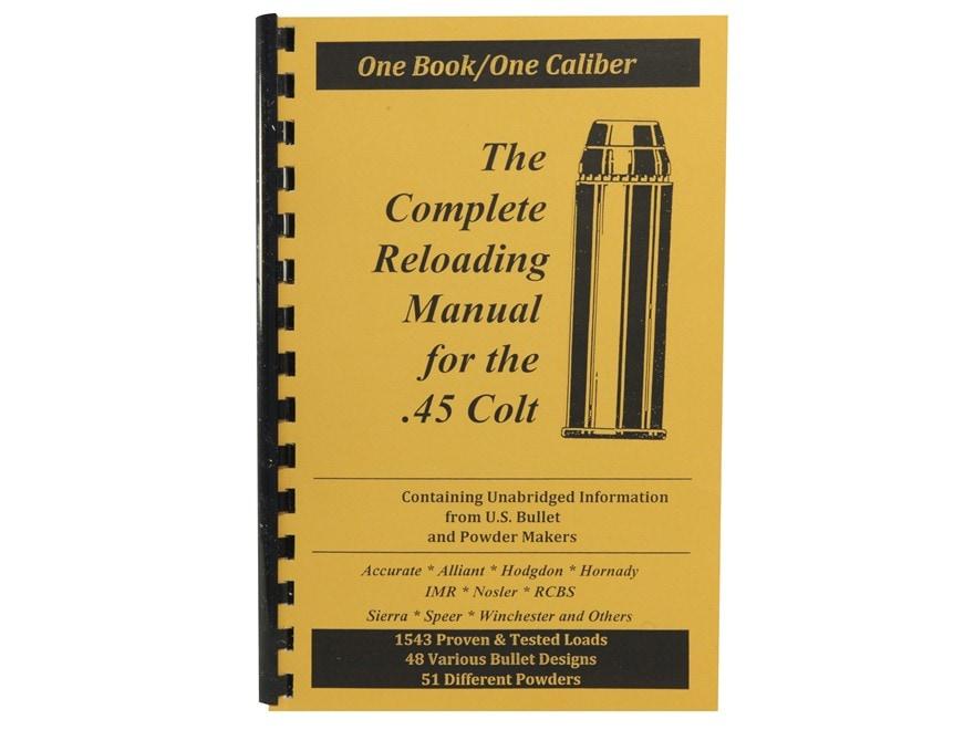 "Loadbooks USA ""45 Colt"" Reloading Manual"