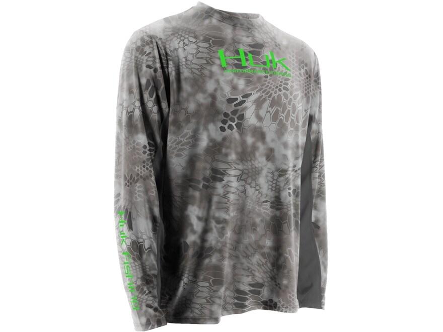 Huk Men's Kryptek Icon Performance Shirt Long Sleeve Polyester and Spandex