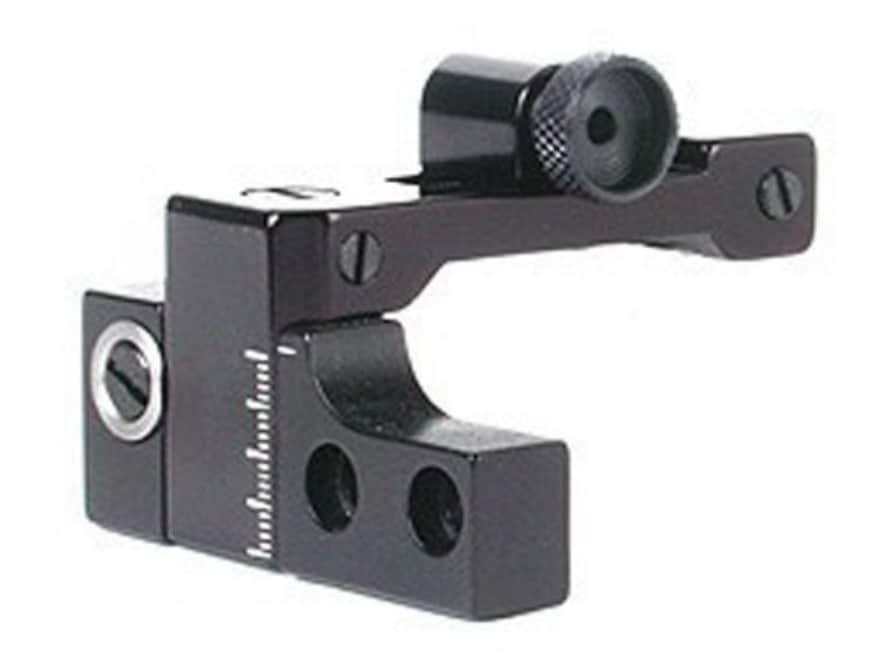 Williams FP-77/50 Receiver Peep Sight Ruger 77 ML Aluminum Black