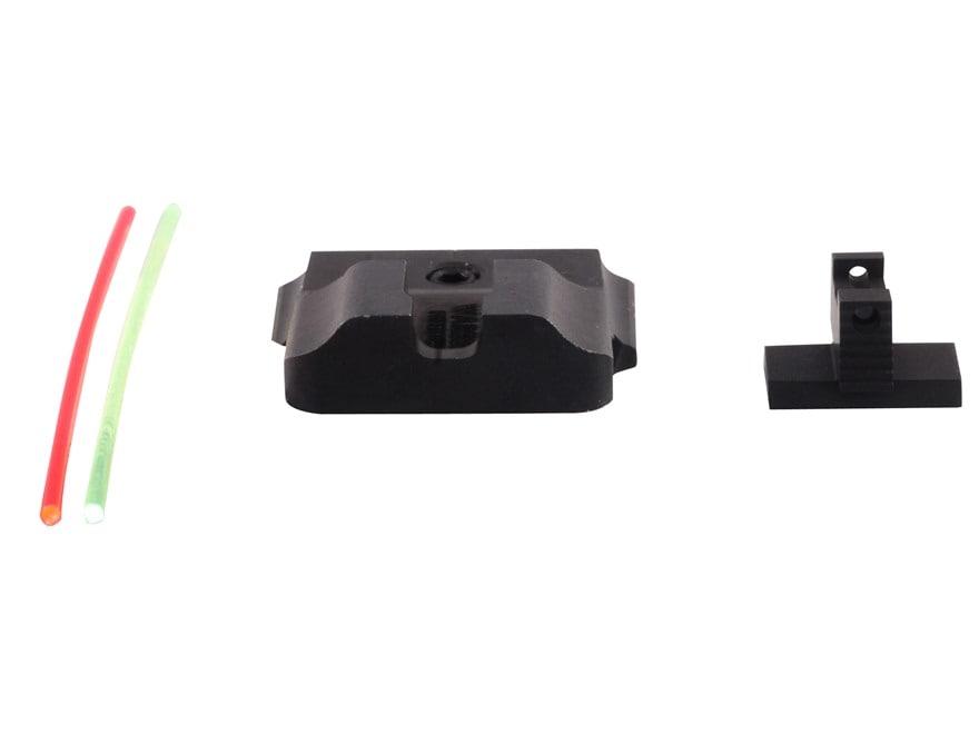 Warren Tactical Sight Set S&W M&P Pro, M&P L-Series Plain Tactical Rear, Fiber Optic Fr...