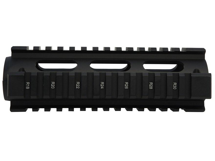 UTG Pro 2-Piece Handguard Quad Rail AR-15 Carbine Length