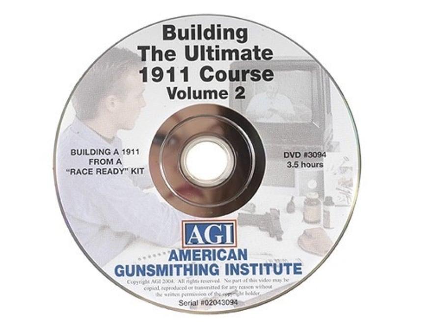 "American Gunsmithing Institute (AGI) Video ""The Ultimate 1911"" Volume 2 DVD"