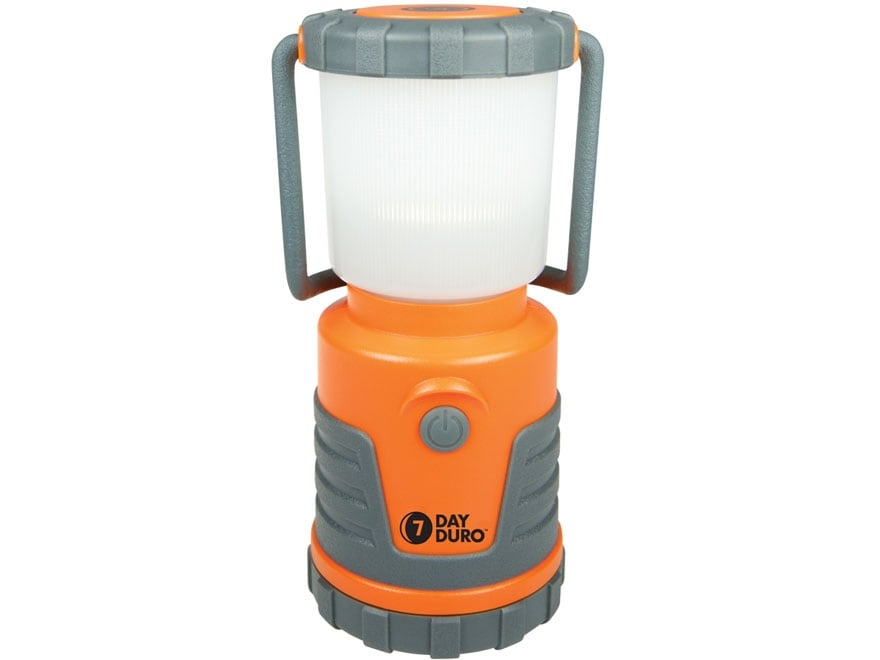 UST 7-Day Duro LED Lantern Requires 4 AA Batteries ABS Plastic Orange