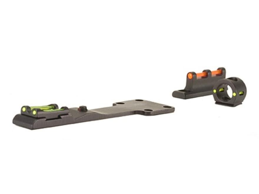 TRUGLO Tru-Bead Turkey Sight Set Universal Fits Shotgun with Vent Rib Fiber Optic Red S...