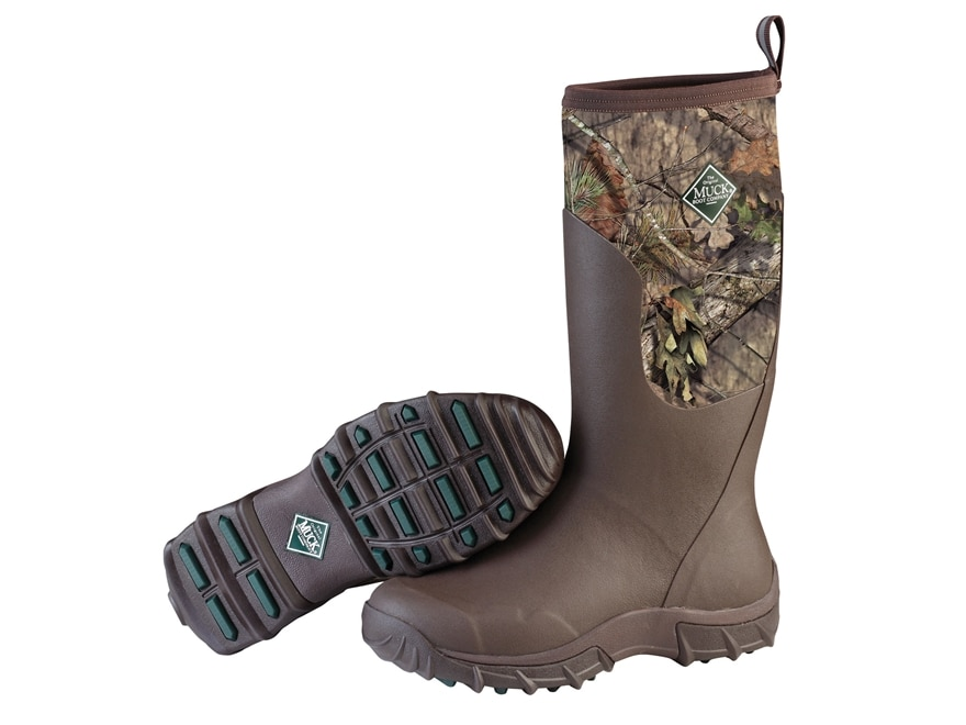 """Muck Woody Sport II 15"""" Waterproof Insulated Hunting Boots Rubber and Nylon Mossy Oak B..."""