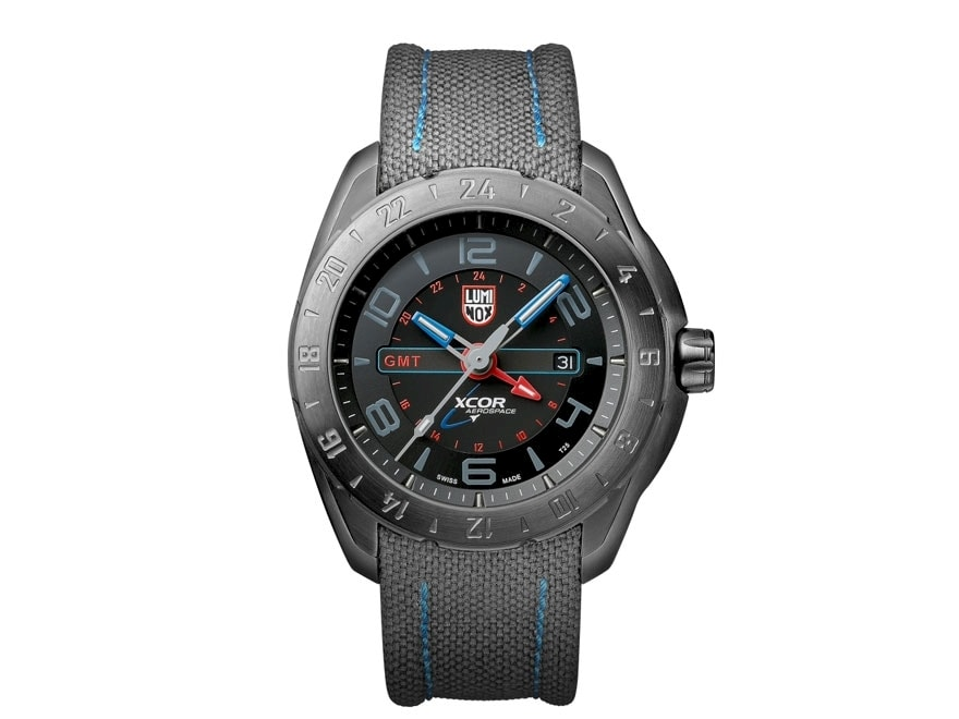 Luminox XCOR Aerospace Watch Cordura/Stainless Steel Gray