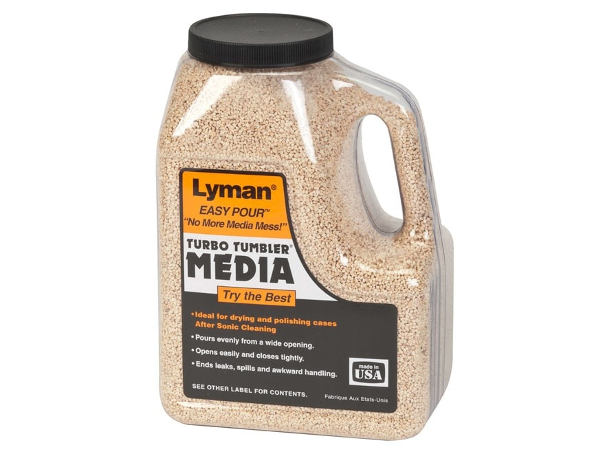 Lyman Turbo Brass Cleaning Media Untreated Corn Cob 2 lb Box