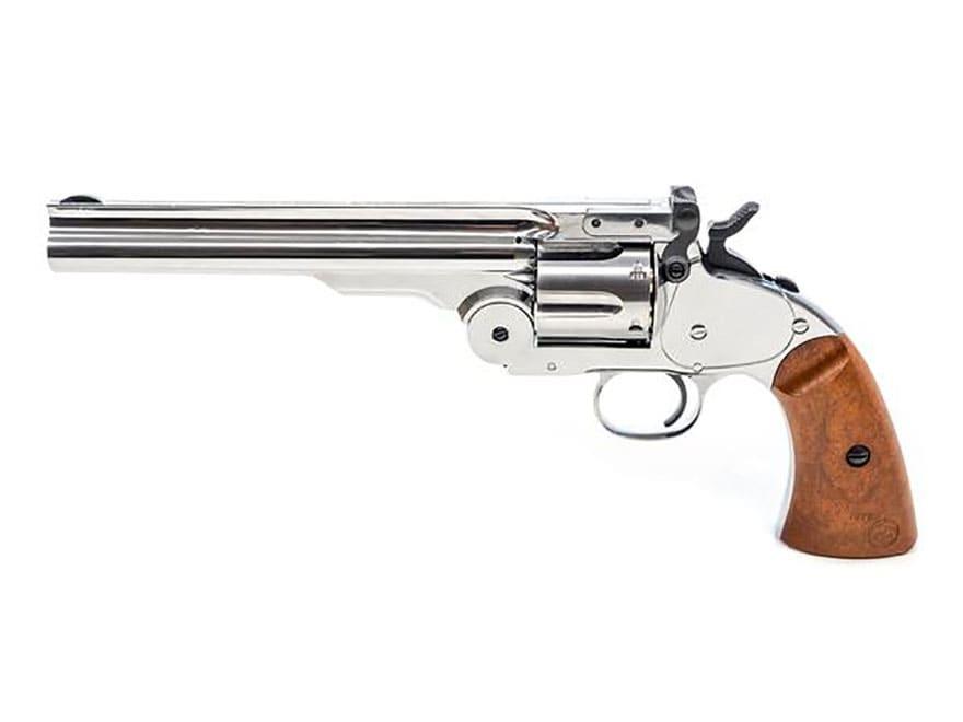 "Bear River Outdoors Schofield #3 Revolver 7"" Barrel Air Pistol 177 Caliber BB"