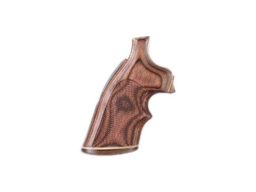 Hogue Fancy Hardwood Grips with Accent Stripe and Top Finger Groove S&W J-Frame Square ...