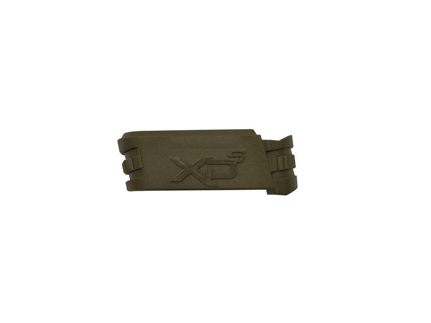"Springfield Armory Magazine Adapter Springfield XD-S 3.3"" 9mm Luger Mid Size Flat Dark ..."
