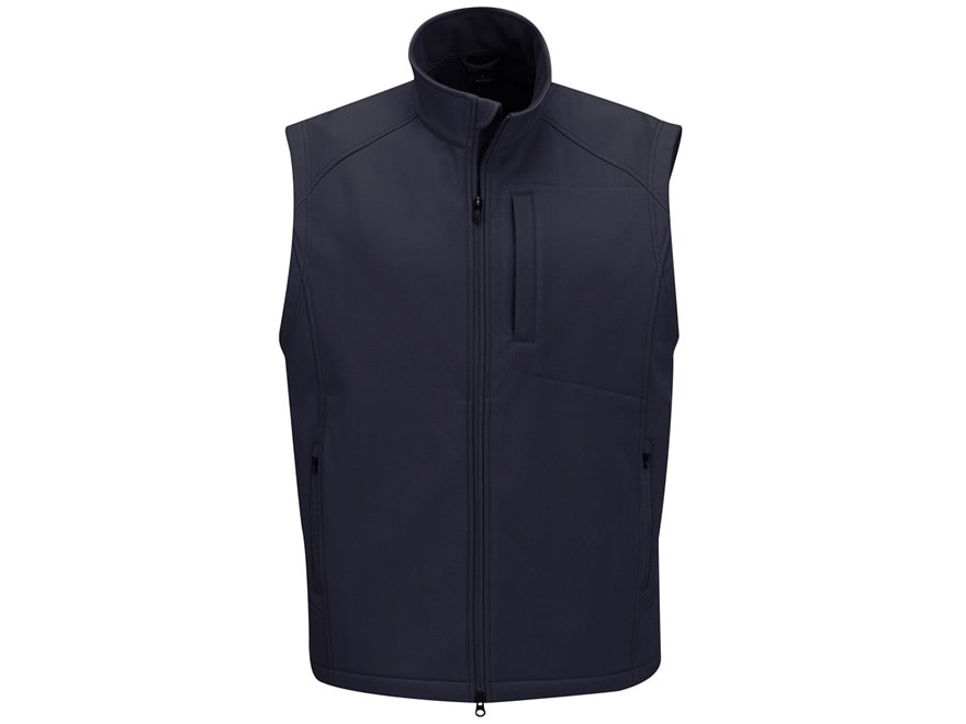 Propper Men's Icon Softshell Vest Polyester and Spandex Black