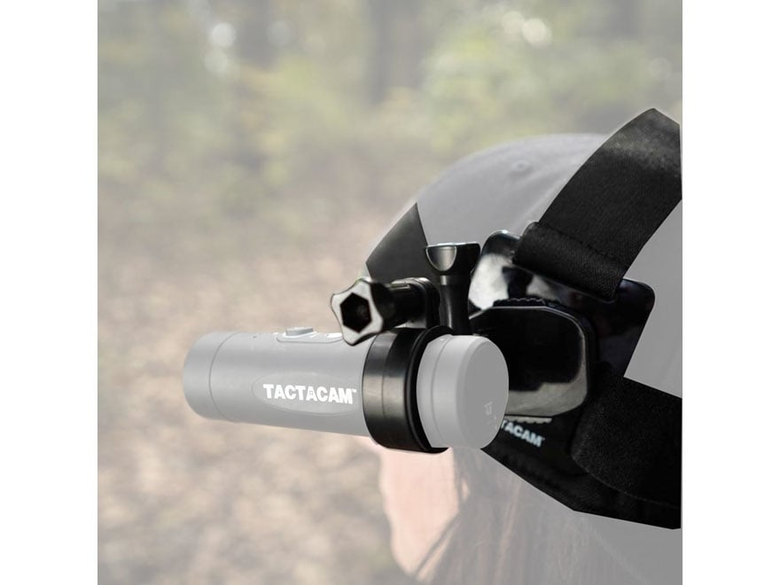 TACTACAM Action Camera Head Mount Black