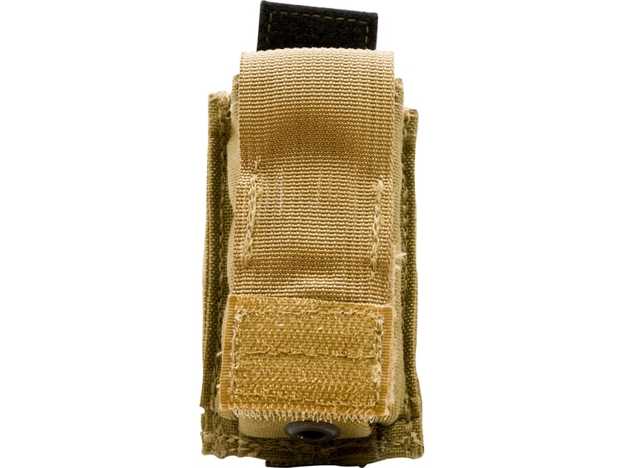 Military Surplus MOLLE II Double Stack Pistol Magazine Pouch Coyote