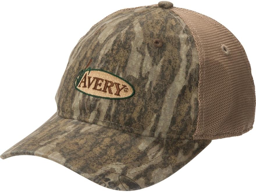 Avery Mesh Back Logo Cap Cotton/Nylon