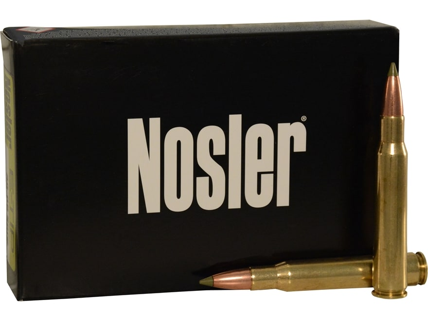 Nosler E-Tip Ammunition 270 Winchester 130 Grain E-Tip Lead-Free Box of 20