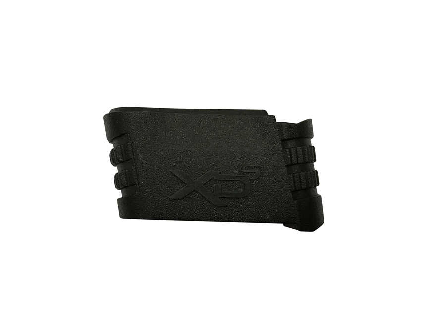 """Springfield Armory Magazine Adapter Springfield XD-S 3.3"""", 4.0"""" 9mm Luger Black"""