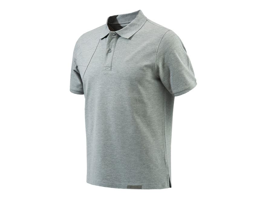Beretta Men's Corporate Patch Polo Shirt Short Sleeve Cotton