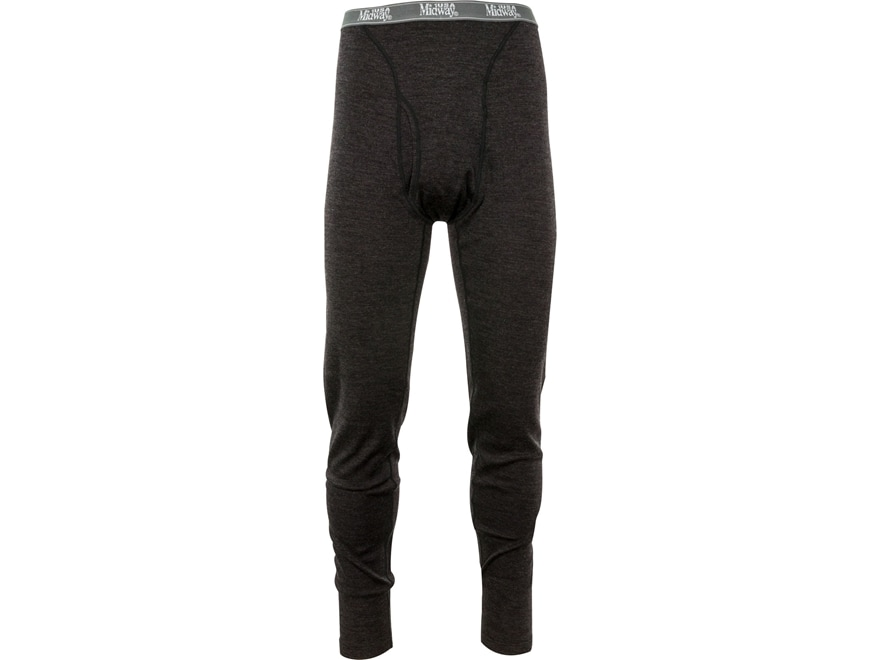 MidwayUSA Men's Mid-Weight Merino Wool Base Layer Pants