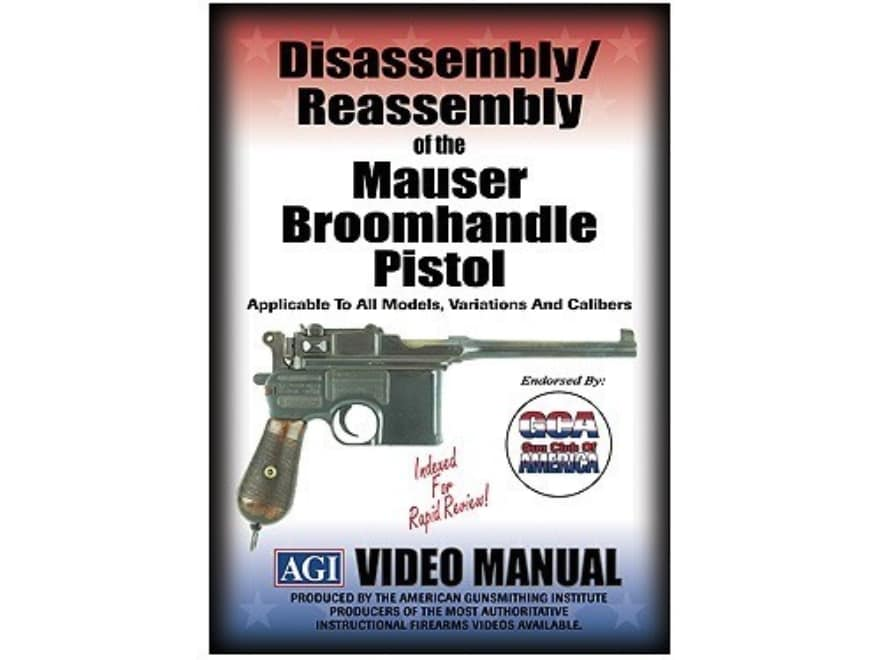 """American Gunsmithing Institute (AGI) Disassembly and Reassembly Course Video """"Mauser Br..."""