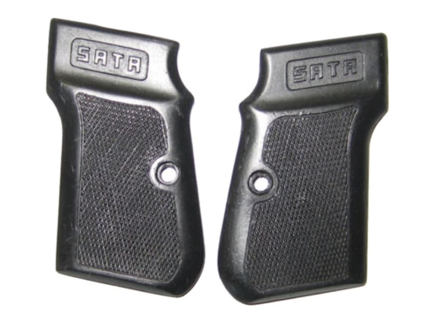 Vintage Gun Grips Sata Small Pocket Polymer Black