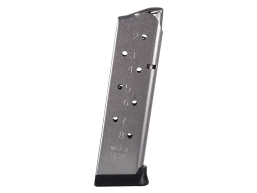 Metalform Magazine Pro Series 1911 Government, Commander 45 ACP 8-Round Stainless Steel...