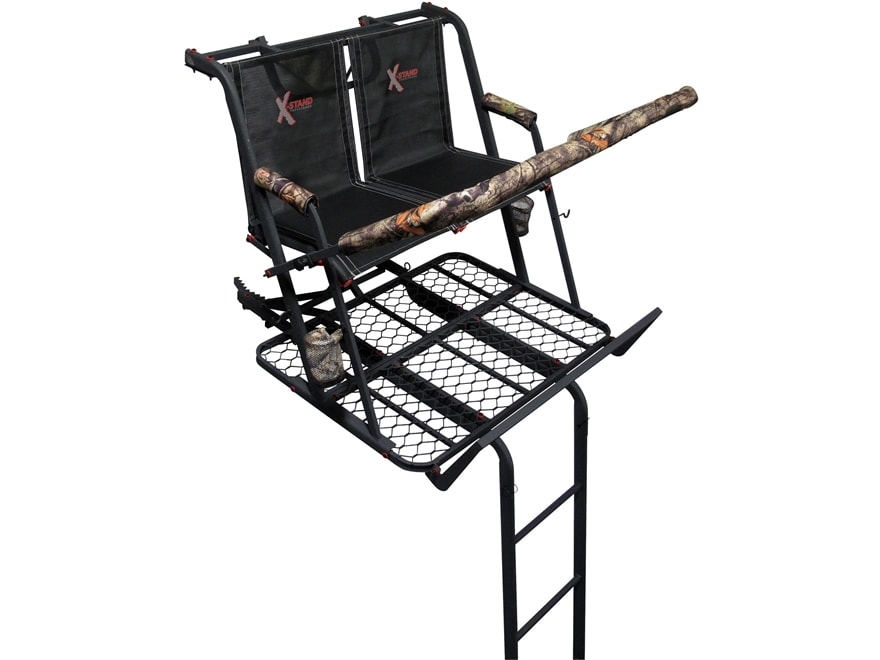 X-Stand The Jayhawk 20' Double Ladder Treestand Steel