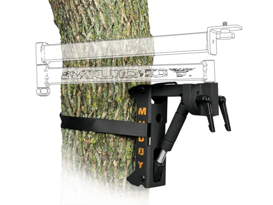 Muddy Outdoors Hunter Video Camera Arm Base Steel Black