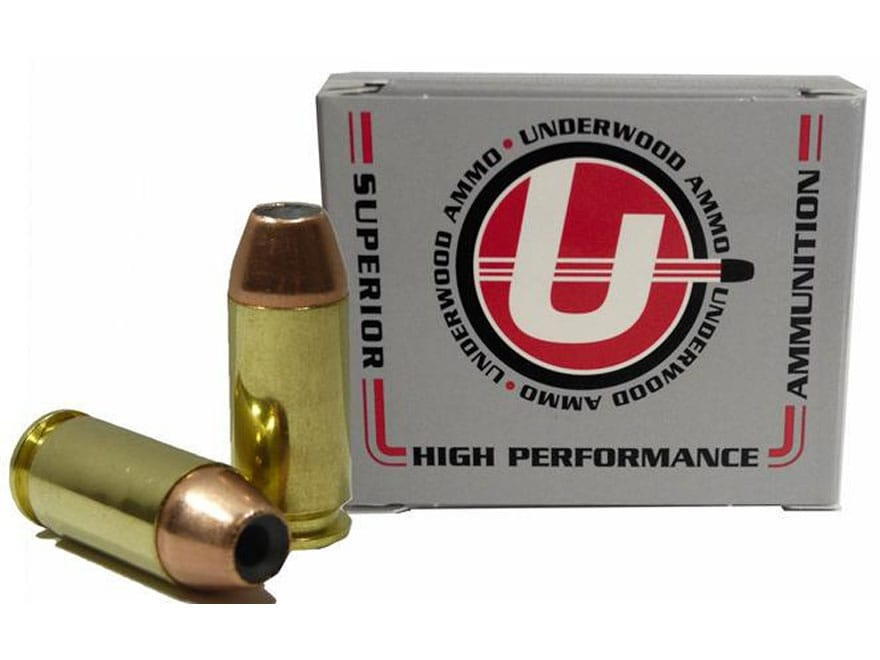 Underwood Ammunition 460 Rowland 185 Grain Jacketed Hollow Point Box of 20