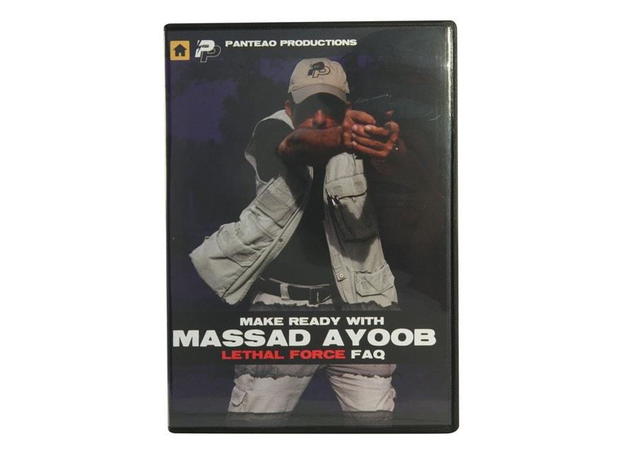 "Panteao ""Make Ready with Massad Ayoob: Lethal Force FAQ"" DVD"