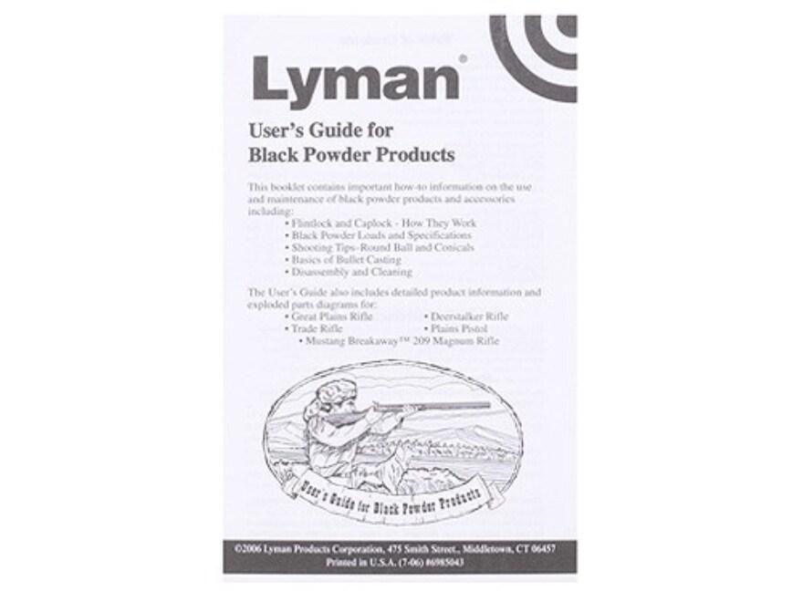 """Black Powder Users Guide"" Book by Lyman"